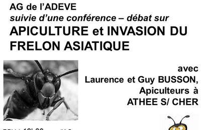 Conférence sur APICULTURE et INVASION DU FRELON ASIATIQUE