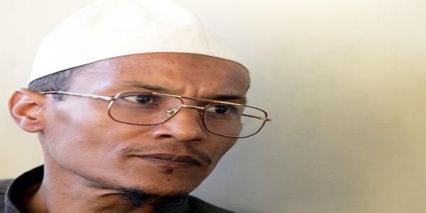 Le cheikh Ali Belhadj, vice-président du Front Islamique du Salut (FIS)