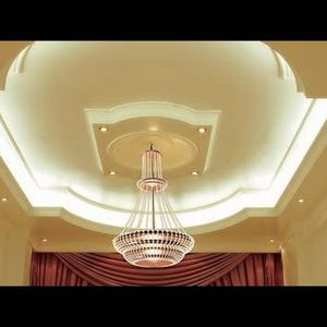 What is the thickness of gypsum for ceilings and walls
