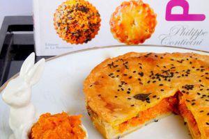 Pie carottes et foie gras de Philippe Conticini