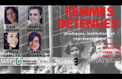 Femmes détenues : pratiques, institutions et représentations