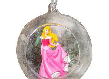 Boule de noël princesse Aurore 3D