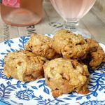 Cookies salés au comté et chorizo