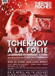 Tchekhov à la folie    mise en scènes Jean-Louis Benoit