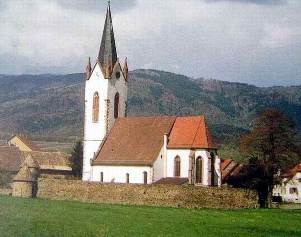 Diaporama château et cimetière fortifié à Hartmannswiller