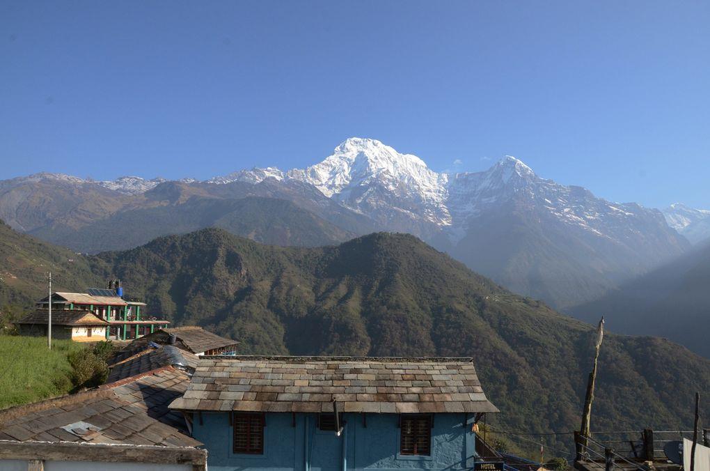 Trek Sanctuaire des Annapurna