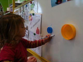 """Activités pédagogiques en SAFEP sur le thème des """"ronds"""""""