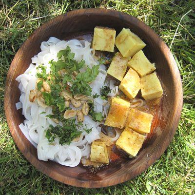 """Salade de """"tofu Shan"""""""