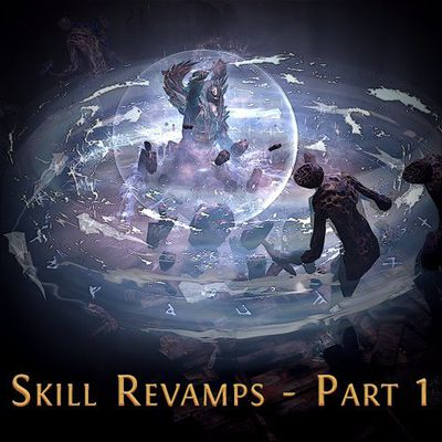 Path Of Exile - Skills Revisions And Patch 3.2.1C