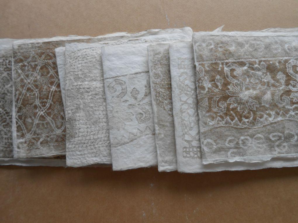 livre en papier d'abaca!
