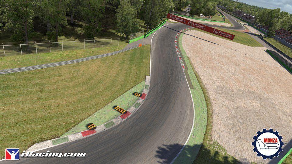 iRacing : images de Monza