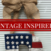 4th of July Front Door Decoration: DIY Project