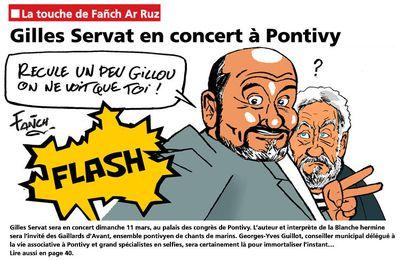 Georges-Yves Guillot, bientôt un selfie avec Gilles Servat ?
