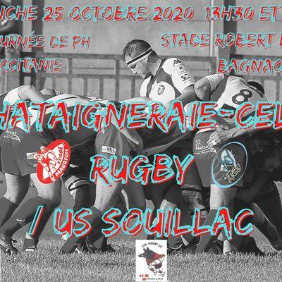 Rugby Châtaigneraie-Célé/US Souillac à Bagnac