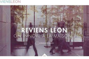 """""""REVIENS LÉON"""", L'APPEL DES START UP..."""