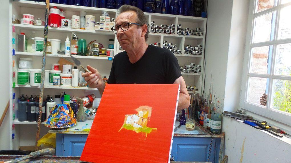 CHRISTIAN EURGAL - ARTISTE PEINTRE A MONTJOI