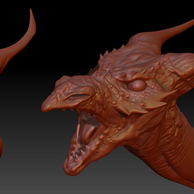 Speed sculpt - Zbrush