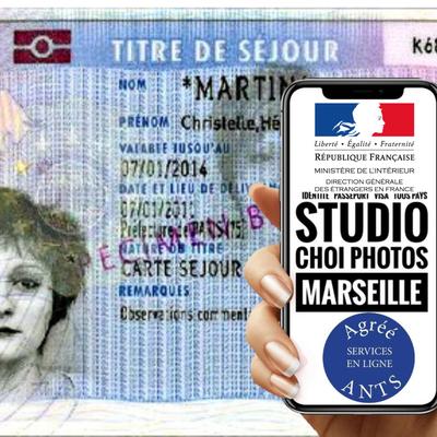 Studio Choi Photos Agréé #Préfecture #ephoto #Titres de Séjour #Étudiant - Carte de Résident Algérien - Code photo signature Numérique #Photographe_Photo_d'identité_agréé_Titre_de_Sejour_Marseille
