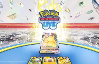 The Pokémon Company International révèle sa toute récente application pour le Jeu de Cartes à Collectionner Pokémon : le JCC Pokémon Live