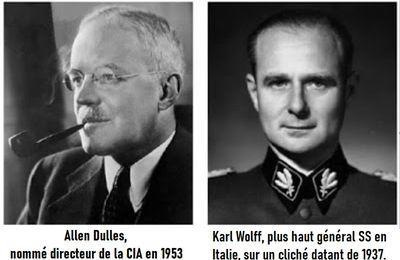 """Une tentative de pacte germano - US, dont on ne parle pas : l'Opération """"Crossword"""": 1945 : quand les Alliés voulaient s'allier avec les Nazis contre l'armée soviétique, et le commentaire de Jean LEVY"""