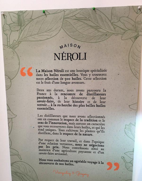 L'alignement des huiles essentielles, l'éthique de Maison Néroli