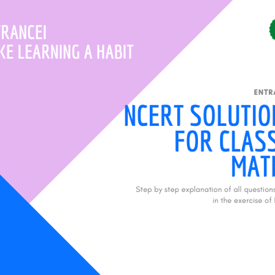 NCERT Solutions For Class 7 Maths | Entrancei