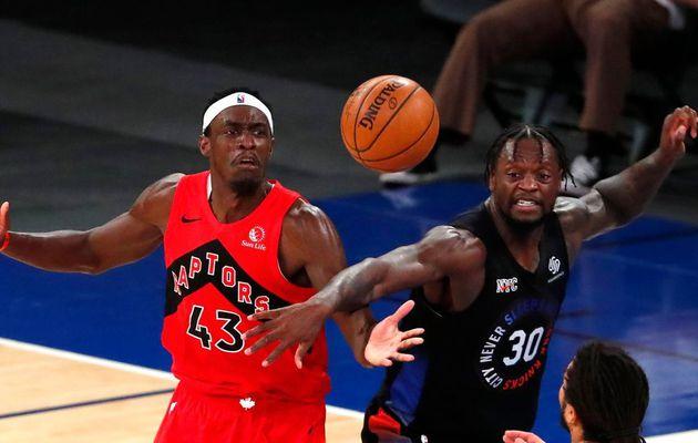 Les Knicks résistent au trio VanVleet-Anunoby-Siakam