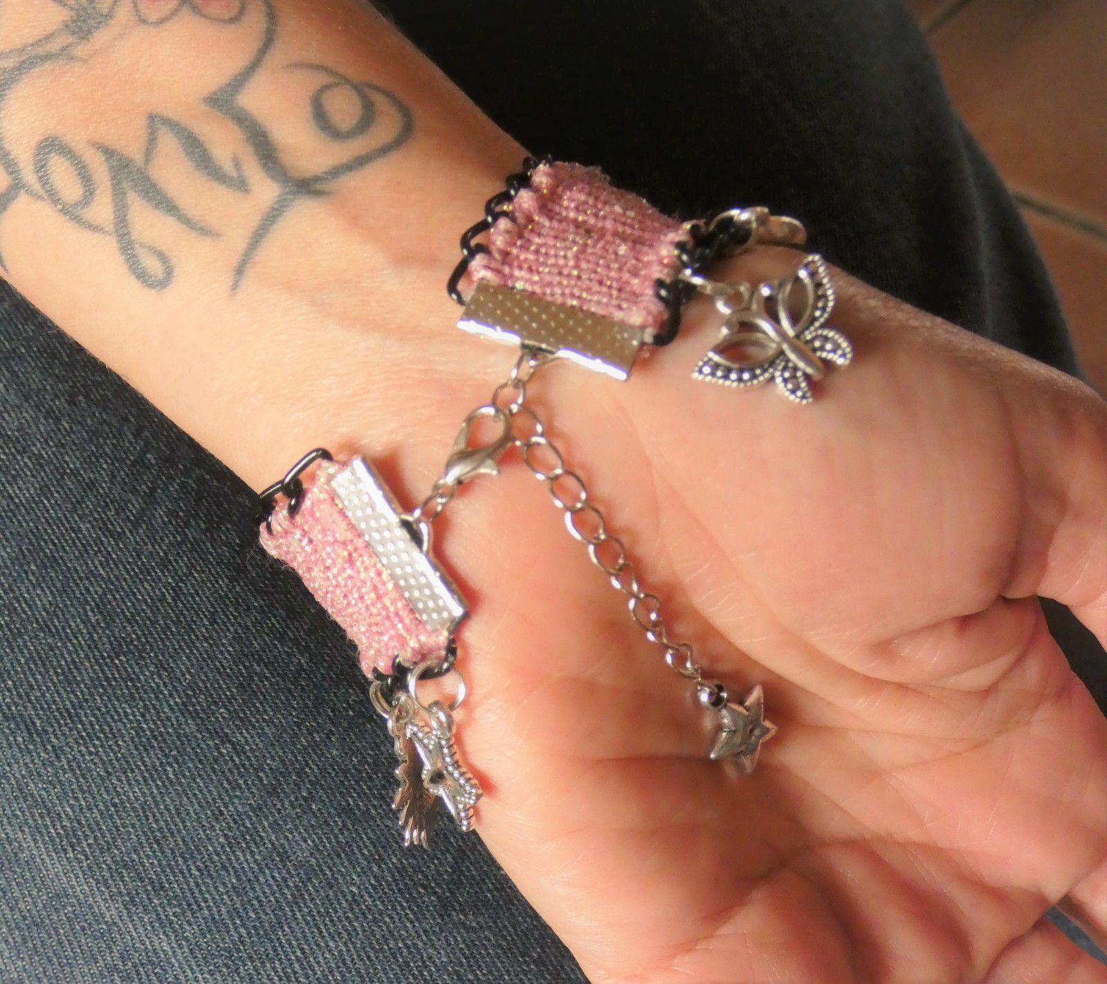 bracelet brésilien prénom cutomisé