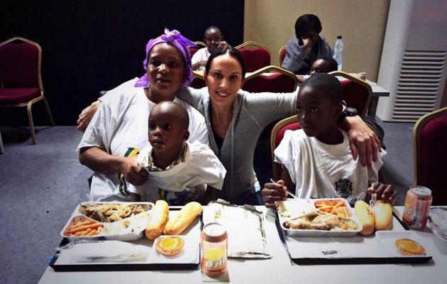 Sylvia Bongo Ondimba offre 30 millions de FCFA aux sinistrés d'Akanda