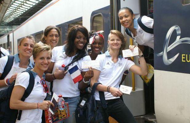 Equipe de France féminine: Londres nous voilà...