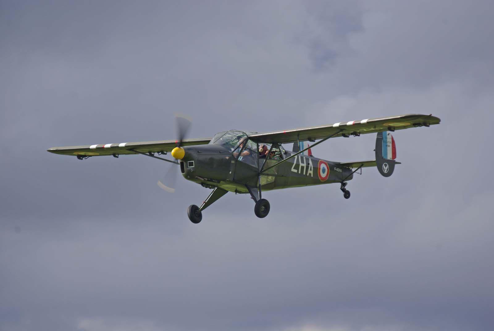 Il s'agit du SNCAC NC-856 Norvigie N°25 F-AZHA.