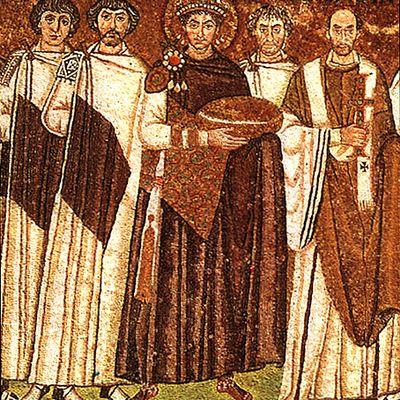 Fêté le 14 novembre : Saint Justinien l'Empereur