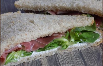 Club sandwich jambon miel