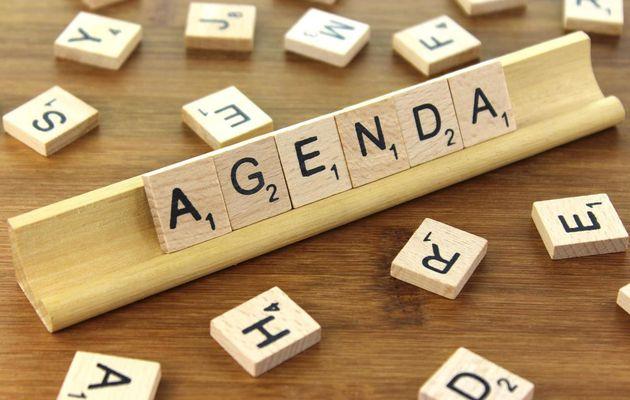 Les temps forts de mon agenda pour la semaine n°2 (2018)