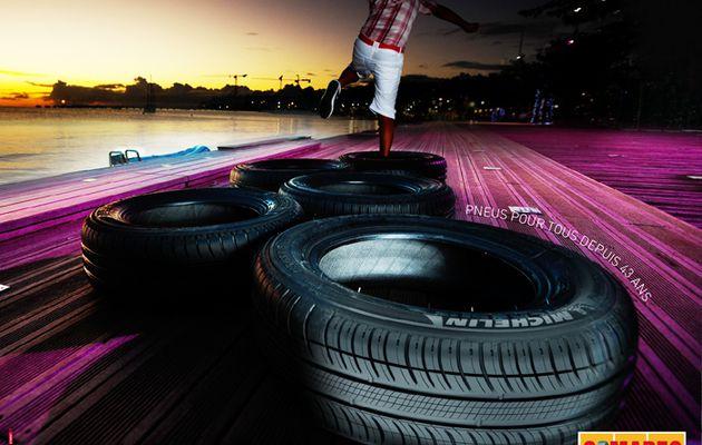 Quand Somarec joue avec les pneus Michelin...