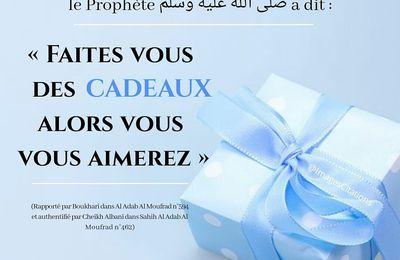 Offrir un cadeau aux bénévoles d'Algérie