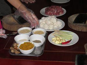 Brèves de cuisine .... Boulettes de chèvre façon vietnamienne