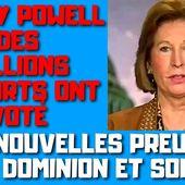 Sidney Powell des millions de morts ont voté Un cadre de Dominion a disparu - PLANETES360