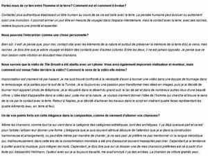 Coup de coeur pour Roberto Michelangelo Giordi