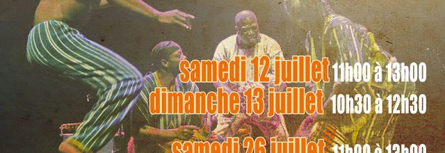 26 & 27/07/14 - Stages de danse africaine avec Amédé Nwatchok