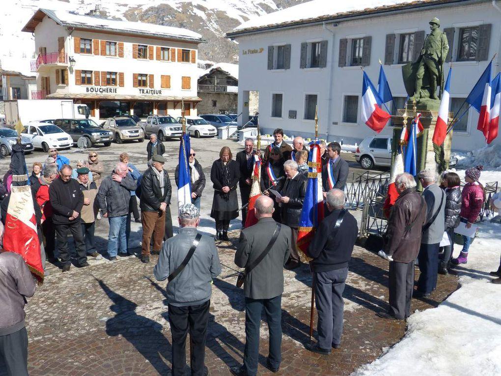 Haute-Maurienne : la commémoration de la guerre d'Algérie à Bessans