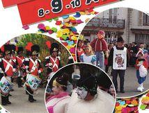 Carnavalcade à Bains les Bains 8-9-10 avril 2016