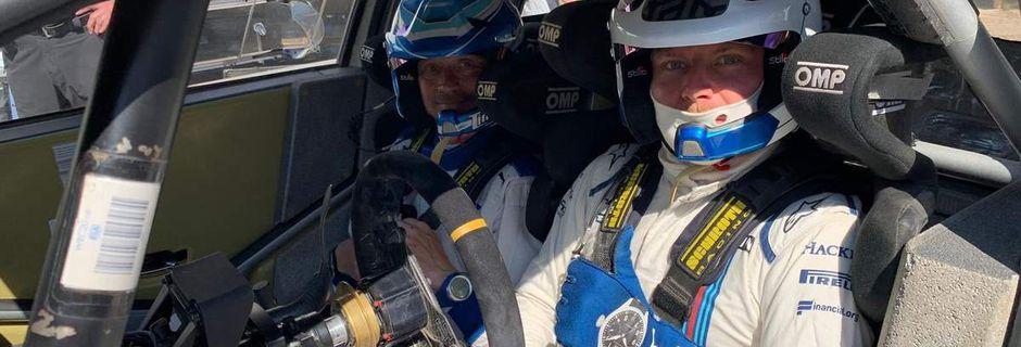 Valtteri Bottas très satisfait de son essai en rallye chez Toyota