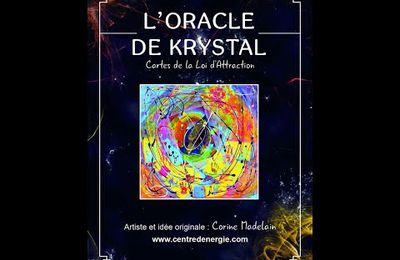 Review de l'Oracle de Krystal par Nat de la chaine Angel Thaena