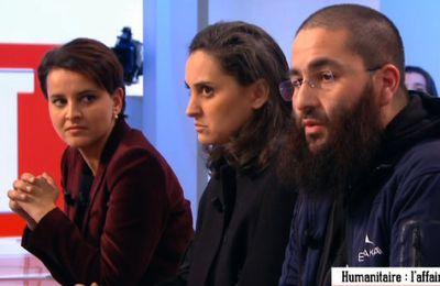 """Enregistrement vidéo de l'émission """"Le Supplément"""" avec Najat Vallaud-Belkacem (Canal + le 24 janvier 2016)"""