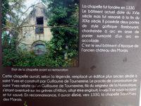 La chapelle des Marais pour un peu d'histoire et...