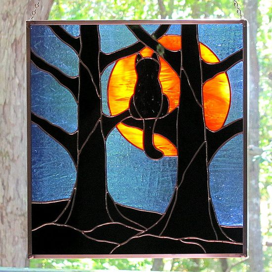 Stained Glass Black