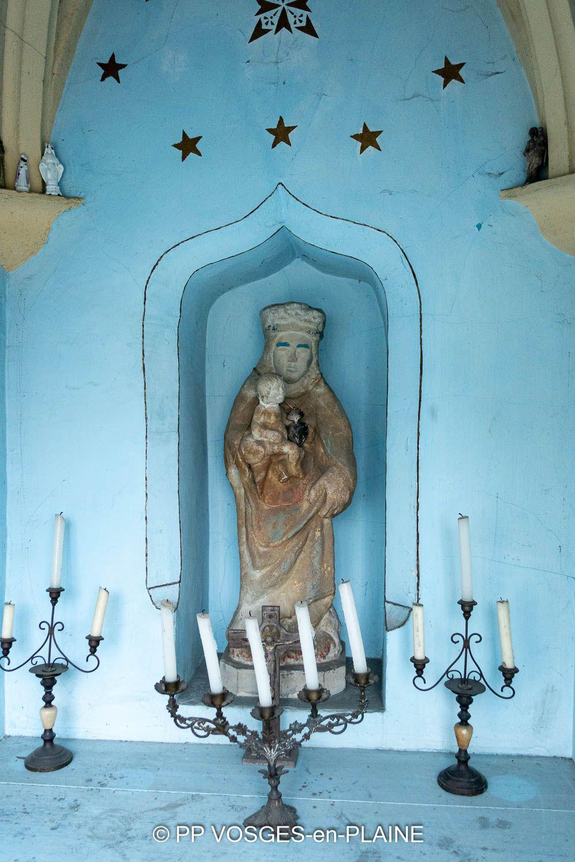 Le patrimoine religieux de DOMPAIRE - MADONNE ET LAMEREY