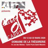 Exposition l'Art O' Carré au bénéfice de l'association Un Plus à La Devinière - 12 au 22 mars 2020 - St Pryvé St Mesmin - VIVRE AUTREMENT VOS LOISIRS avec Clodelle