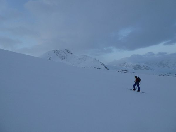Ski de randonnée : Alphubel 4206 m